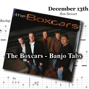 Downloadable Banjo Tabs - The Boxcars